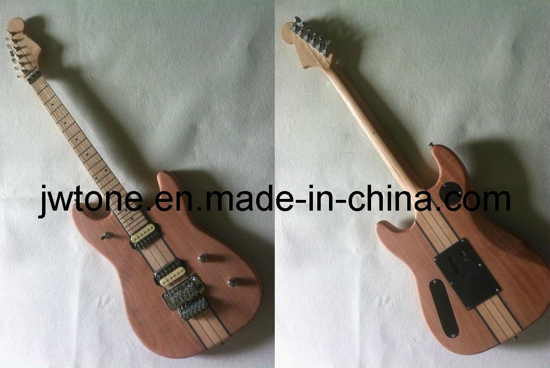 Long Neck Through Body Quality Custom St Electric Guitar