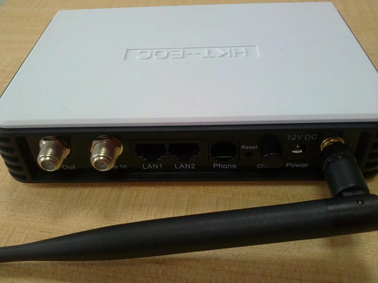 AR7411 EOC Modem with Wifi/VOIP CE/RoHS/FCC