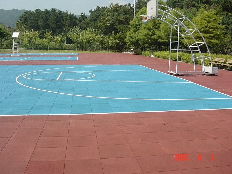 Rubber Floor for Basketball Court