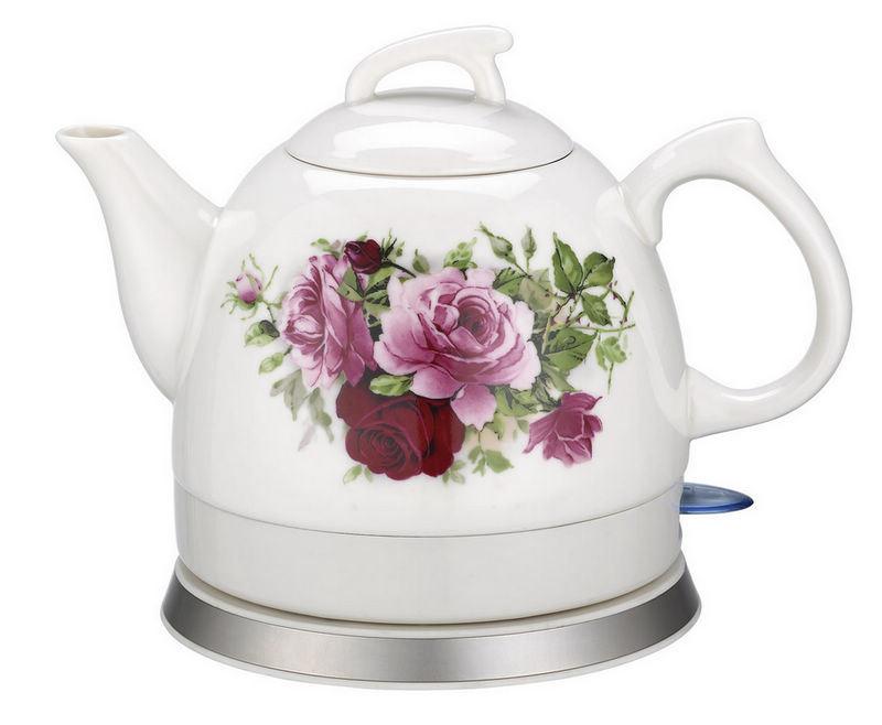 Porcelain Electric Kettle ~ China l cordless ceramic electric kettle mk rf s