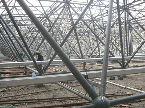 Struct Steel Bolted Frame : China construction of bolted space frame steel