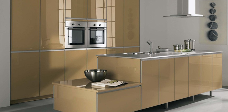 European Style Kitchen Cabinet - China Kitchen Cabinet, Kitchen ...