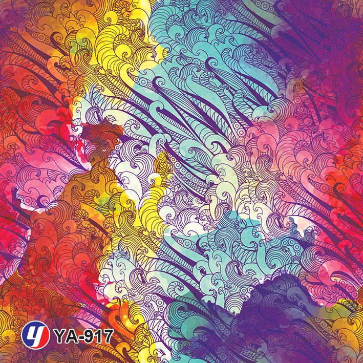 Yingcai Paint Drawing Hydrographics Water Transfer Printing Film