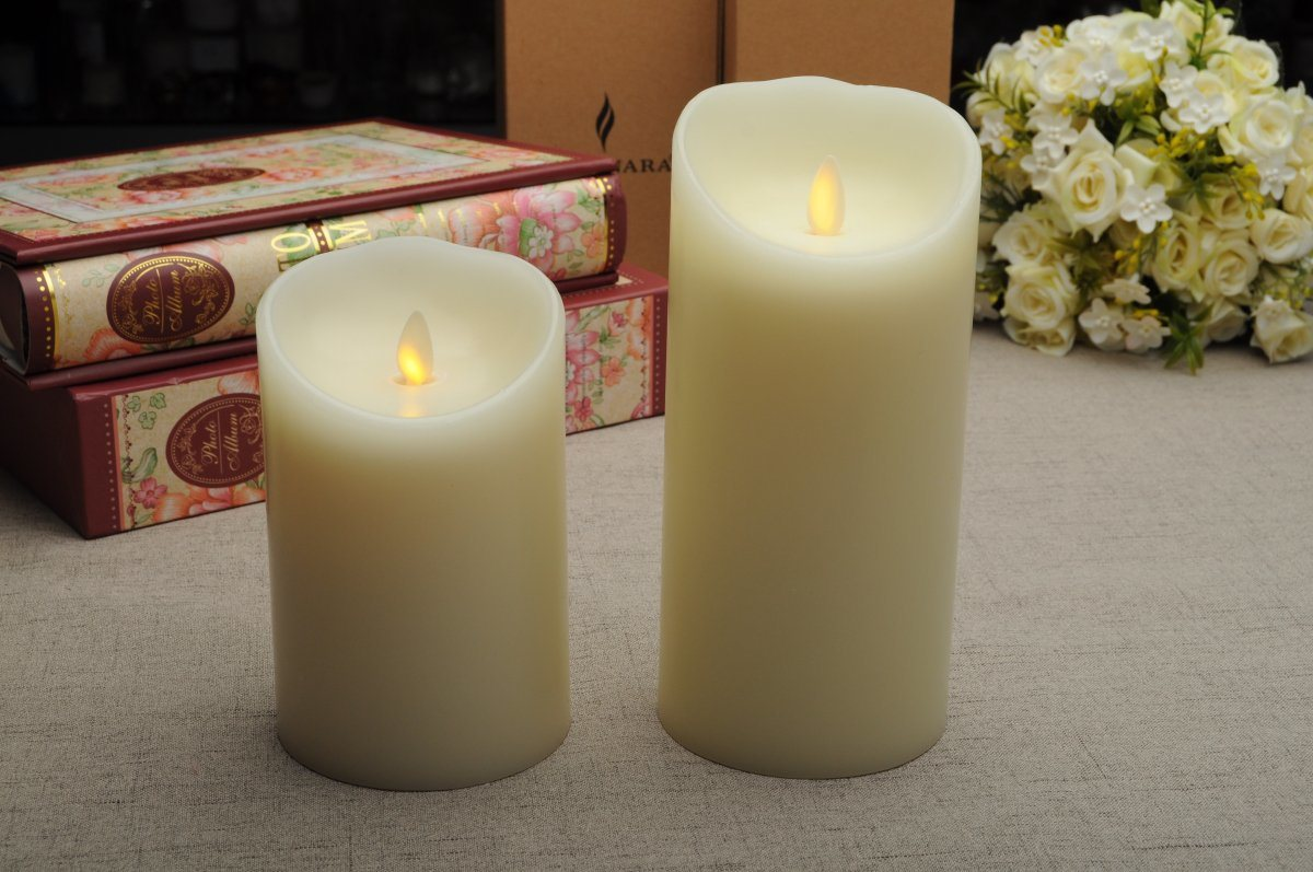 Home Decoration Hospitality Designs Flameless LED Candle