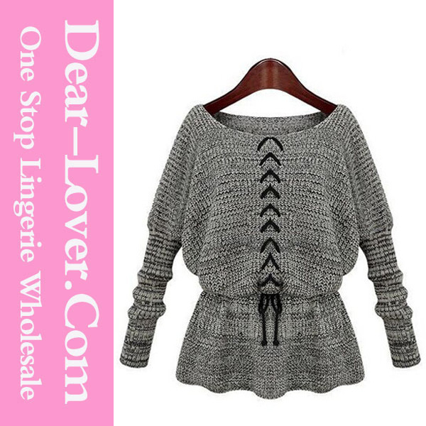 Autumn Winter Wool Ladies Sweater