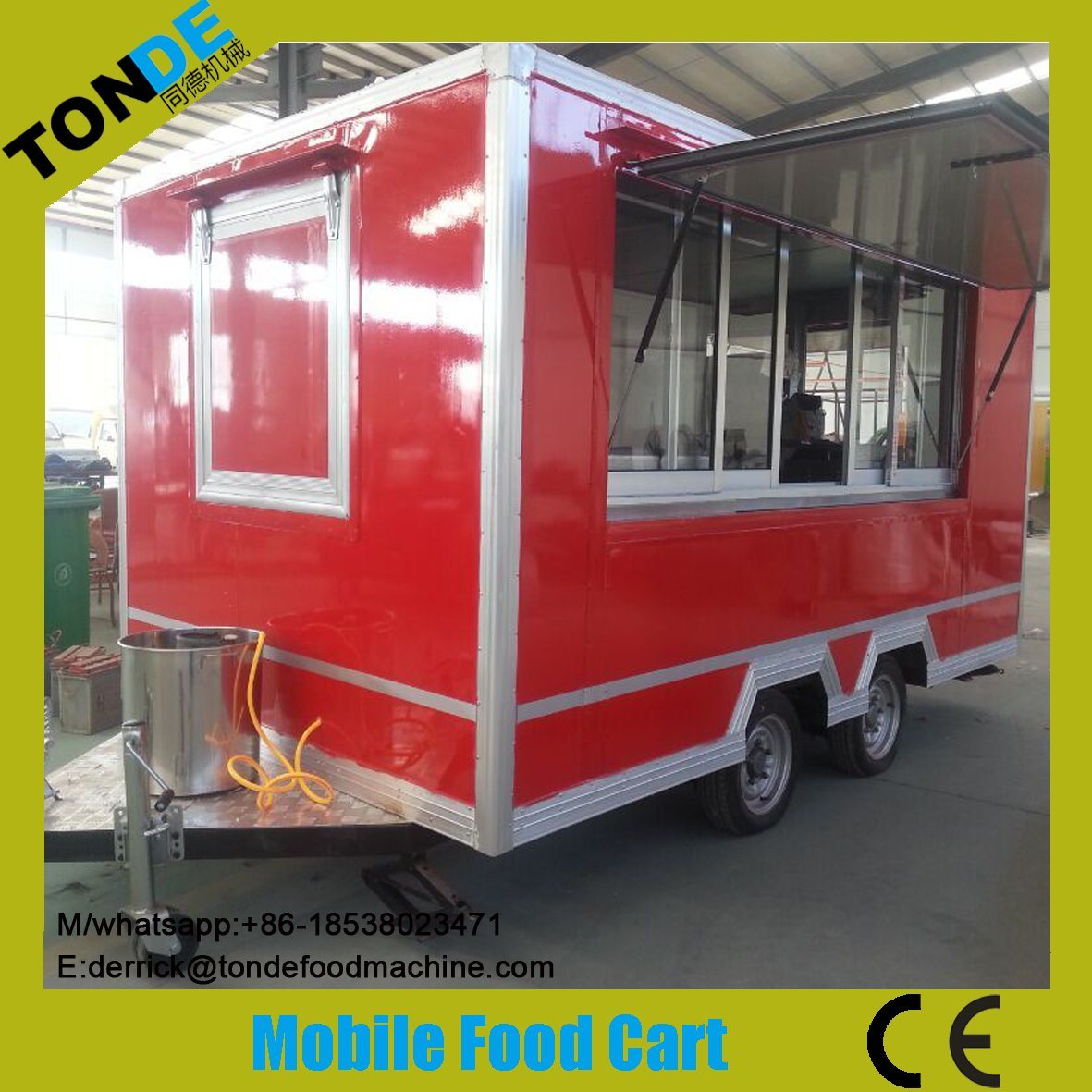Kiosk for Vending Food and Juice