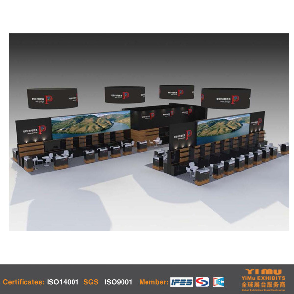 Trade Show Exhibition for Country Pavilion in Shanghai