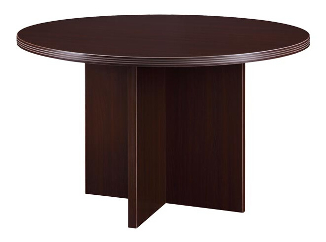 Modern High Quality MFC Board Office Furniture Round Table