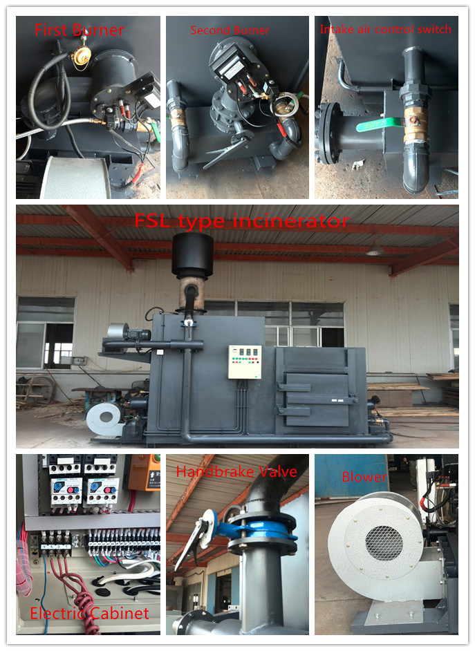 Waste Disposal Garbage Treatment Incinerator with Ce Certificate