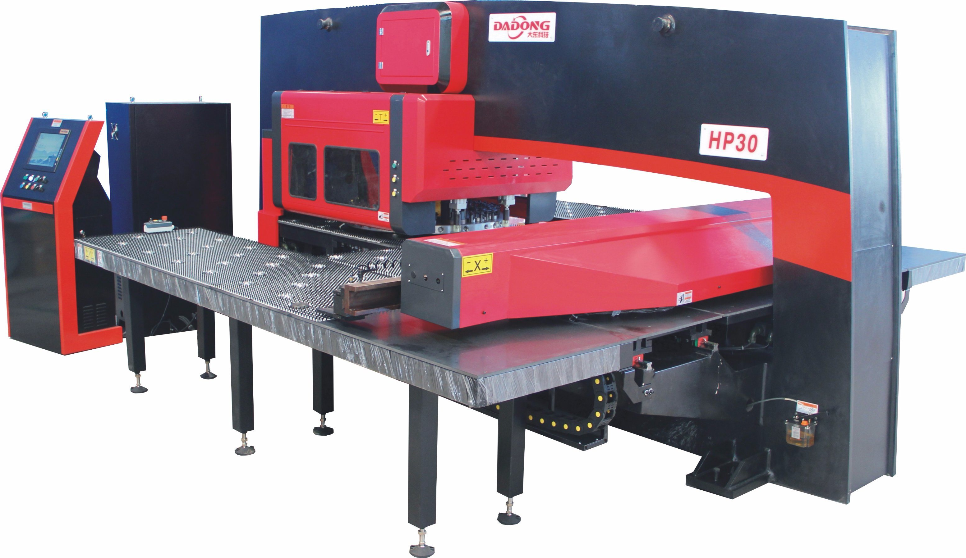 HP30 Metal Sheet Processing CNC Turret Punching Press Machinery