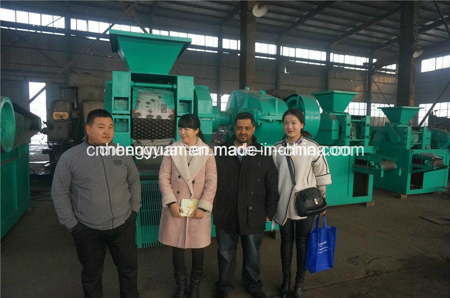Pillow Shape Charcoal Briquettes Machine