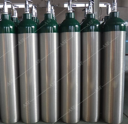 Alsafe 2017 Serial Aluminum Oxygen Cylinder Sizes