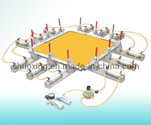 Pneumatic Screen Stretching Machine, Screen Printing Mesh Stretcher