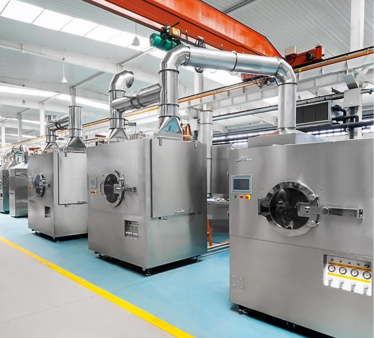 Bg Series High Efficiency Coating Machine