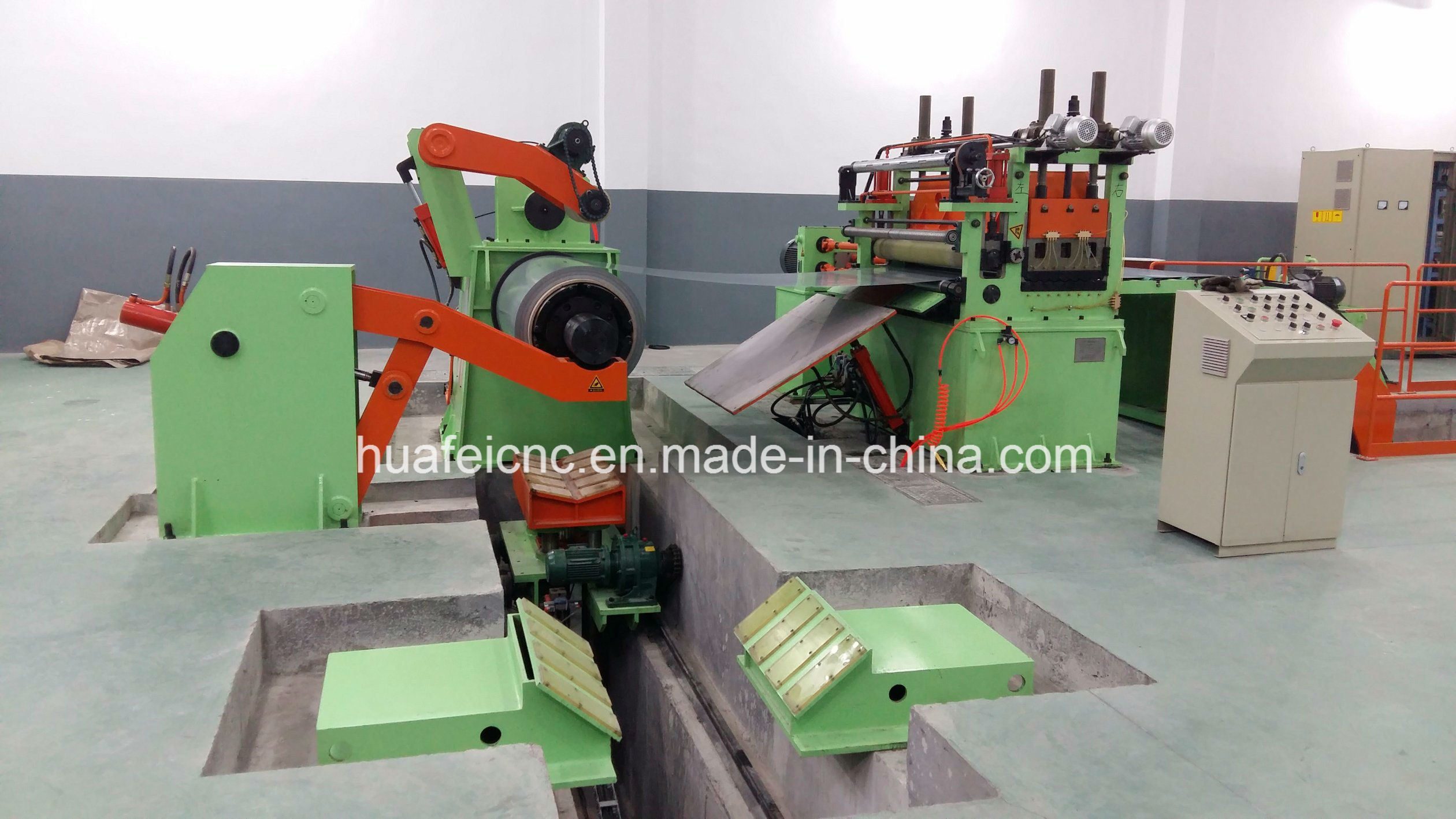 Jinan Huafei Cut to Length Production Line