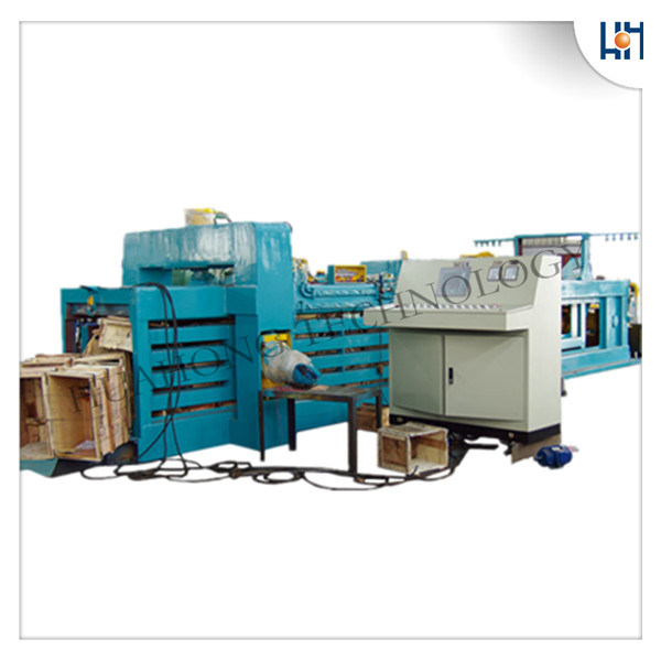 Hydraulic Full Automatic Pet Bottles Baler Recycling Machine