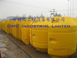 HDPE Float for Dredging Project System