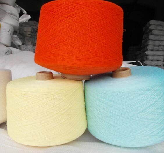 Coloured Polyester Yarn Ring Spun