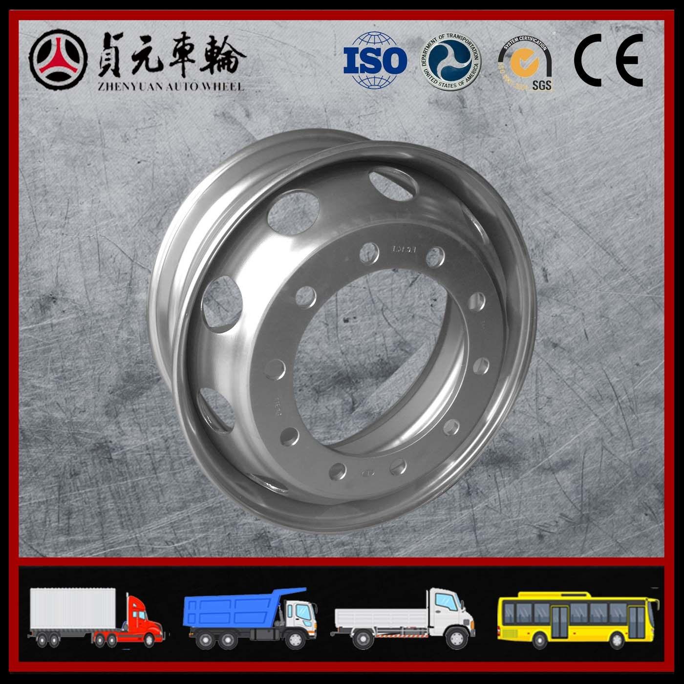 Shandong Zhenyuan Auto Wheel Wheel Rim (19.5*6.75)