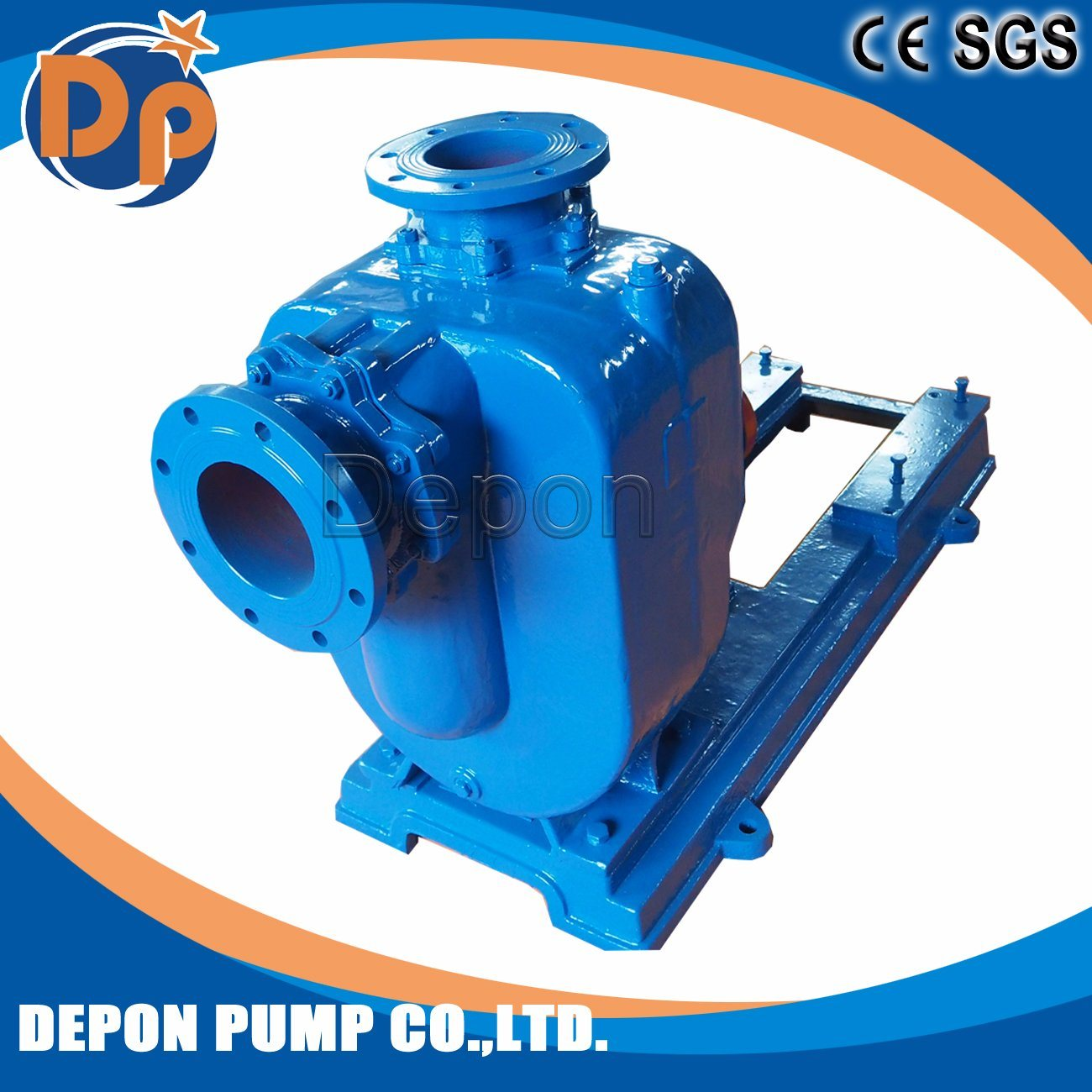 Centrifugal Rain Water Pump for Sewage with Trailer