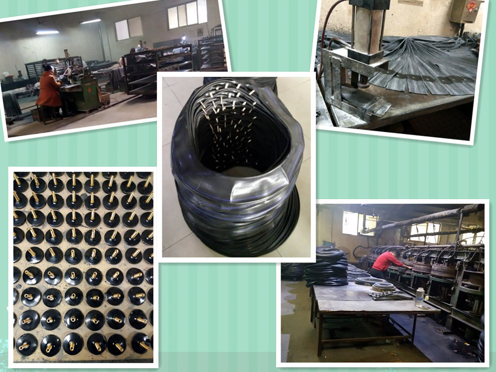 Professional Factory Manufactures Top -Ranking Quality Motorcycle Inner Tube (110/90-16)