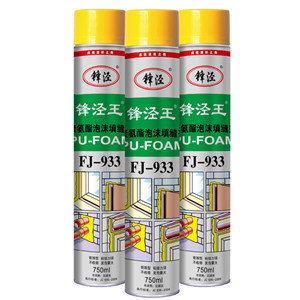 750ml One Component Expanding Polyurethane PU Foam Sealant Gap Filler