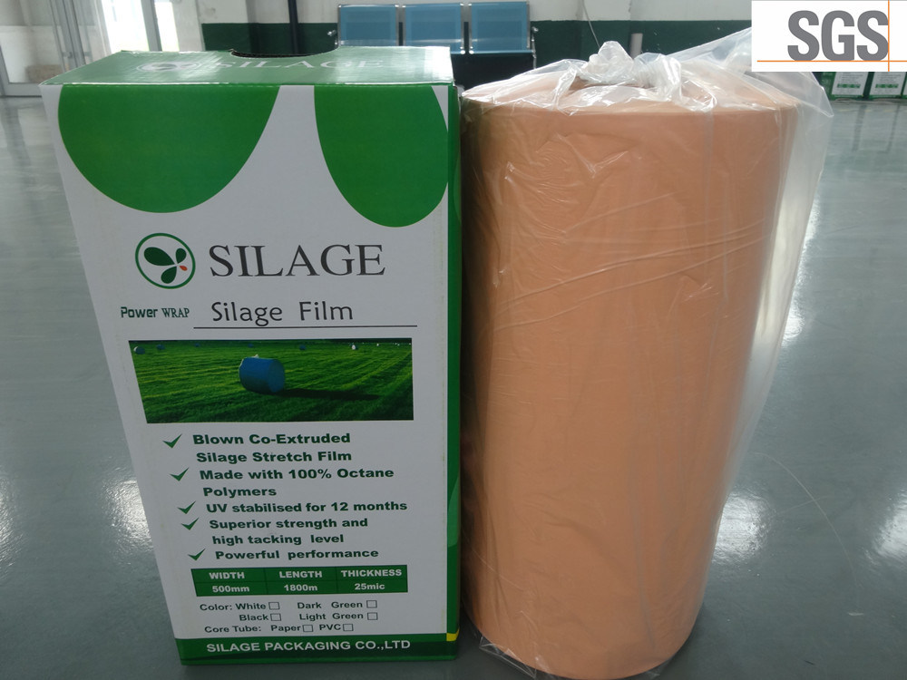 Hot! Hay Bale Wrap for Sale Colour White, Black and Green Anti UV 750mm/500m/250mm