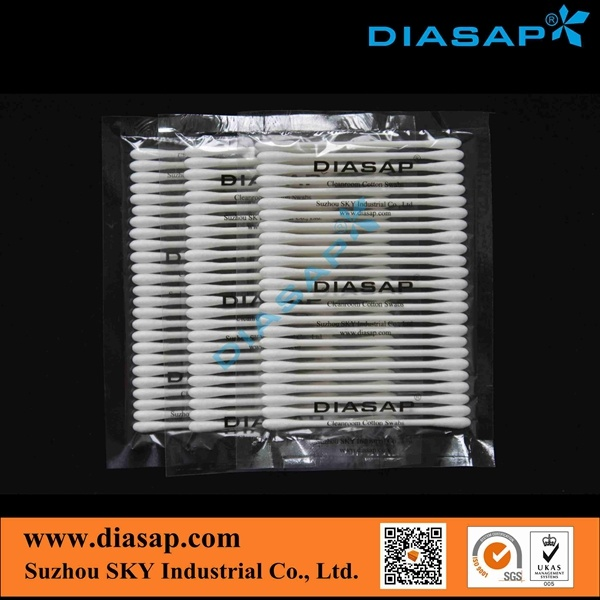 Clean Room Cotton Swabs for Industrial (HUBY CA002)