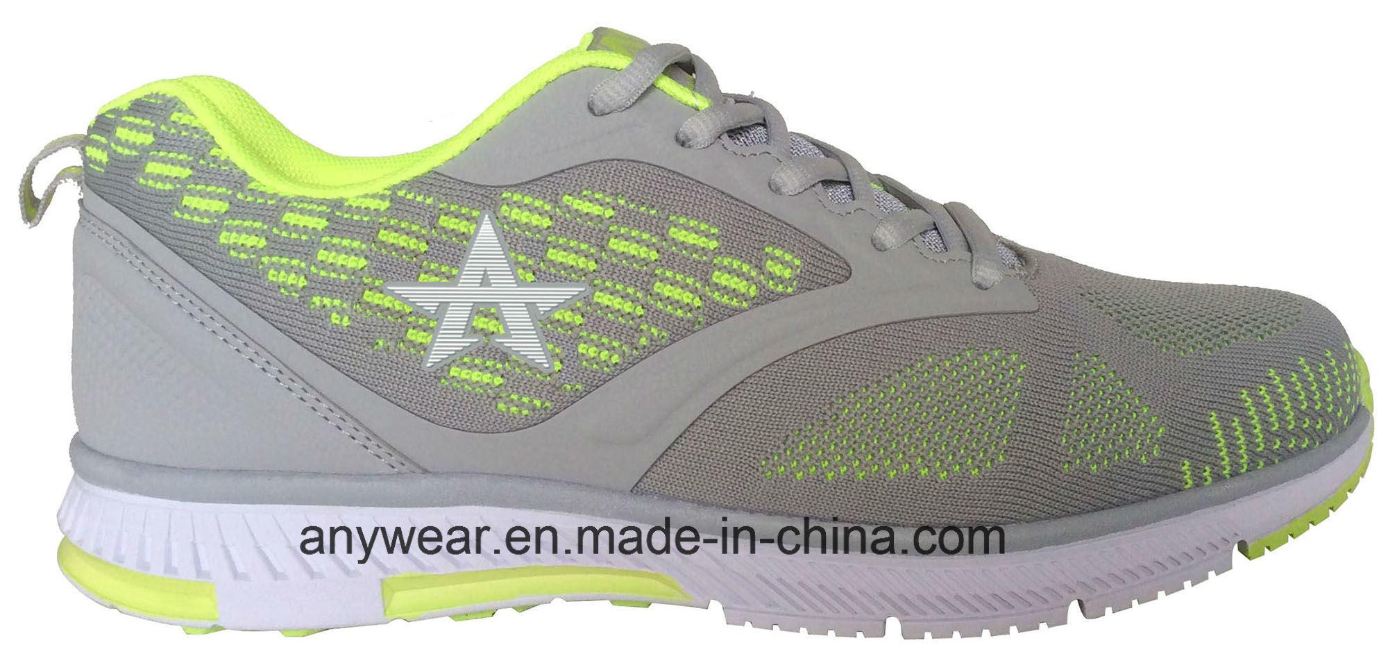 Brand Flyknit Footwear Men Sneakers Walking Sports Shoes (816-9380)