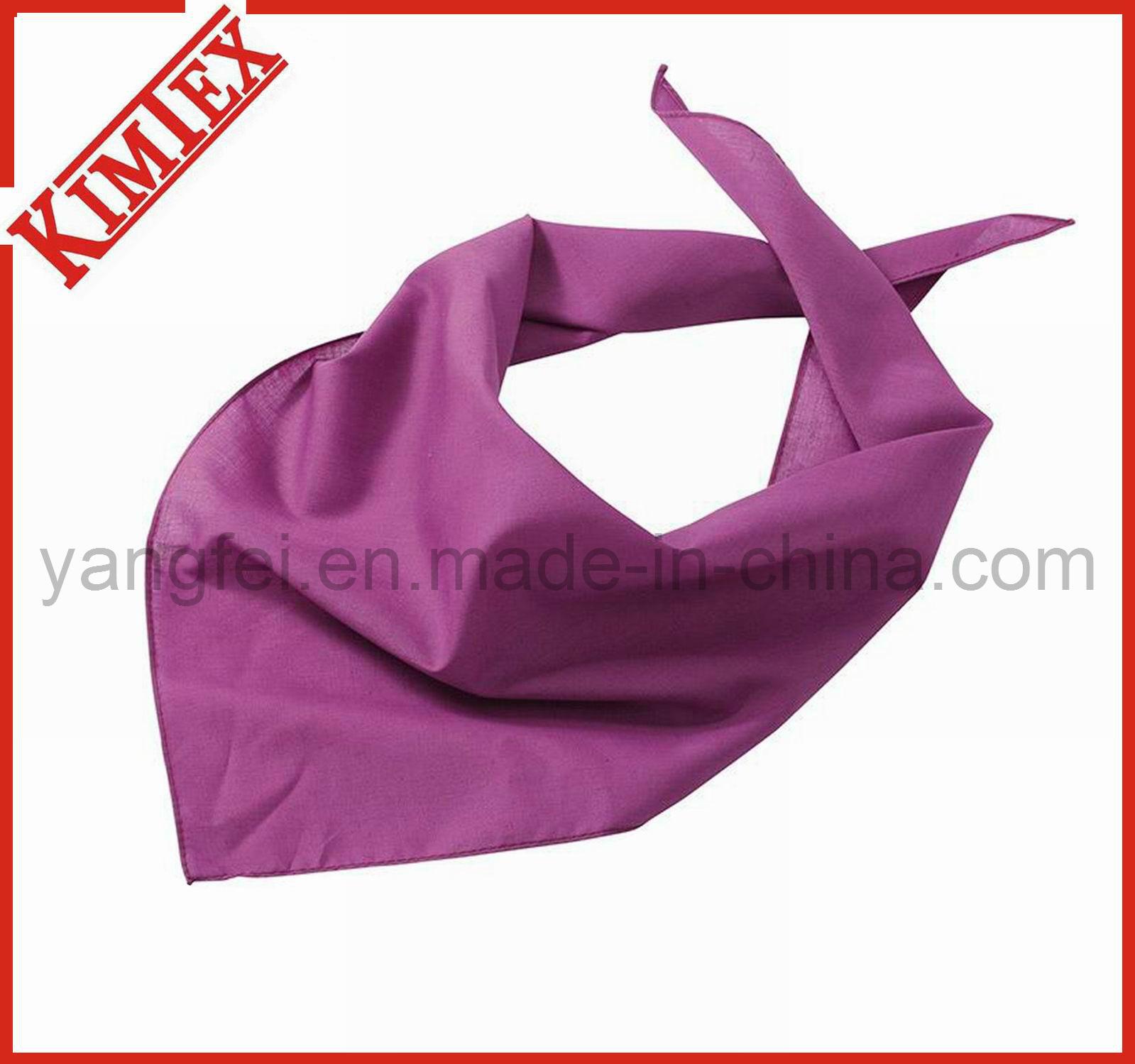 Customized Fashion Promotion Printing Triangle Dog Bandana