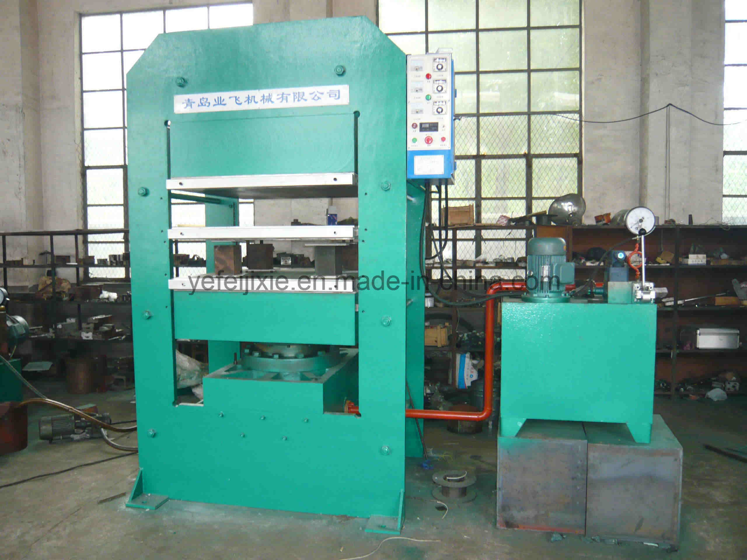 China Hot Sale Rubber Vulcanizer Plate Vulcanizing Press Machine Rubber Machine Mixing Mill