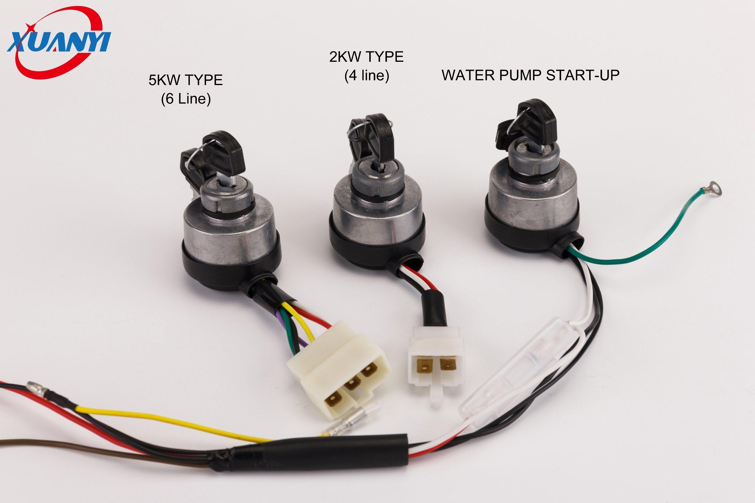 Generator Parts Electric Key Lock for Panel Key Start Key&Lock