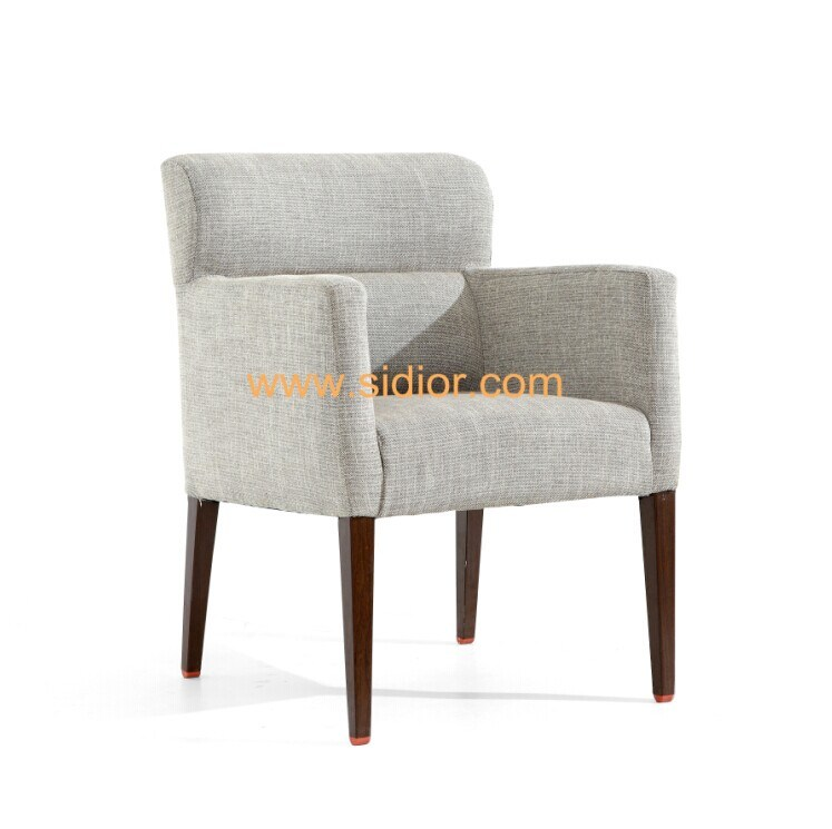 (SD-1011) Modern Wood Frame Fabric Upholstery Hotel Restaurant Furniture Dining Chair