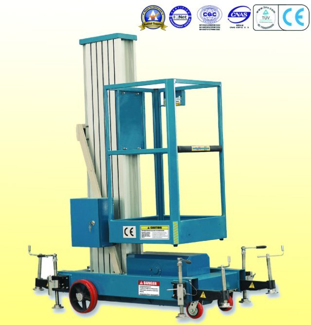 Single Mast Mobile Aerial Work Platform