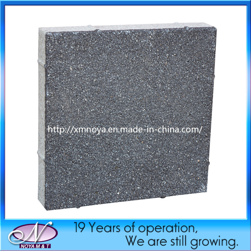 Black / Grey / Red Water Permeable Ceramic Clay Concrete Paving Brick
