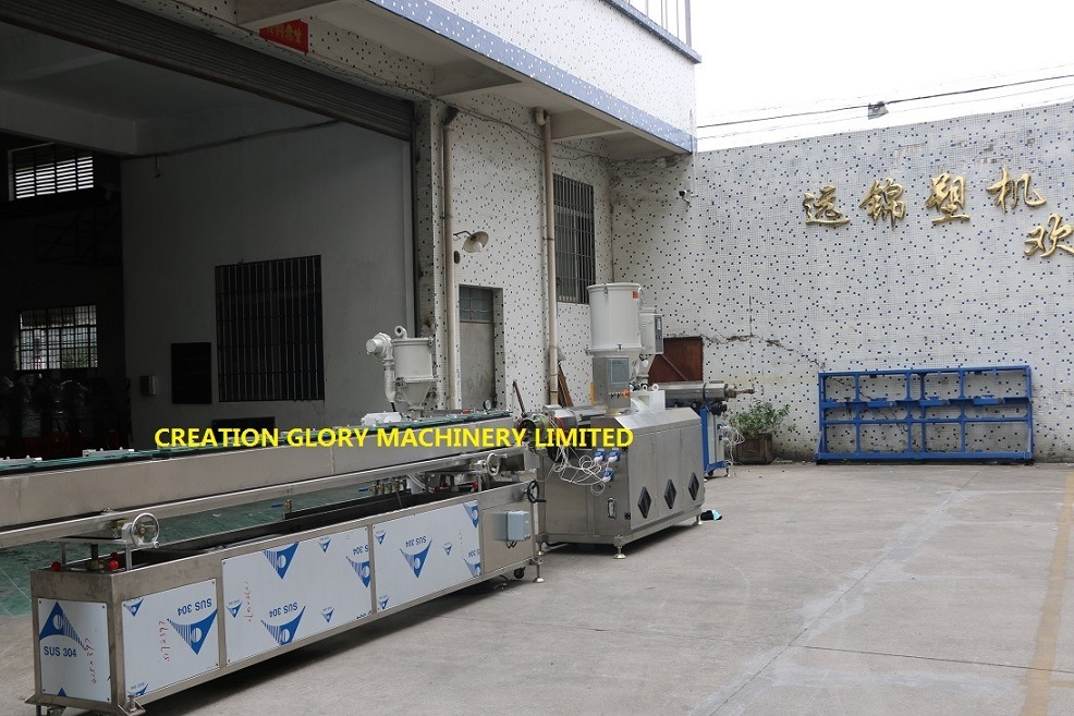 High Precision Double Lumen Tracheal Tubing Plastic Extrusion Machine