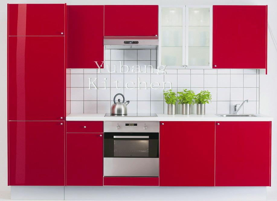 Gabinete de cocina cocido al horno de la pintura m l78 for Pintura para puertas de cocina