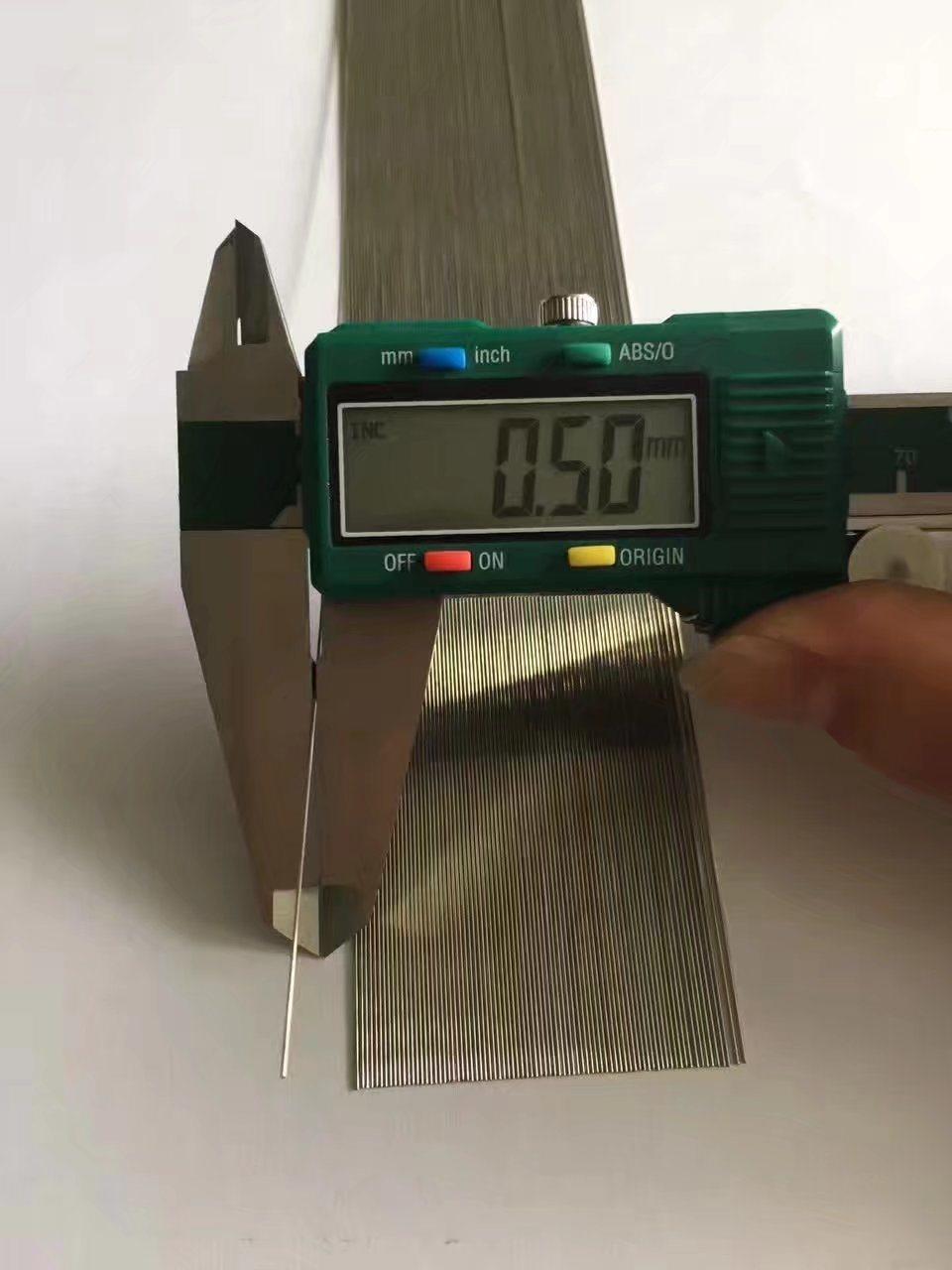 Ss 304 316 Stainless Steel Needle Medical Capillary Tube