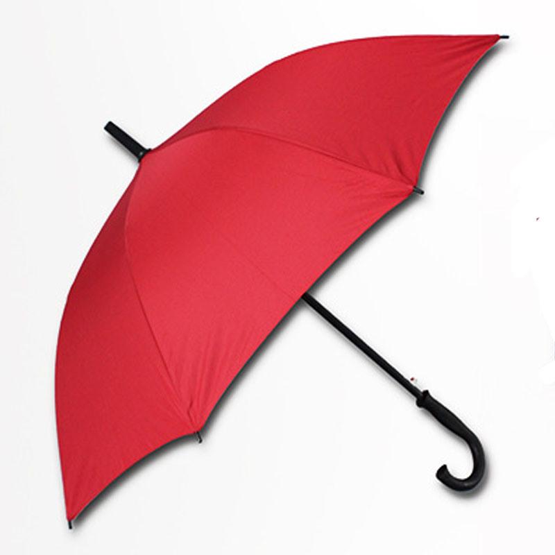 Automatic Open Windproof Black Golf Umbrella