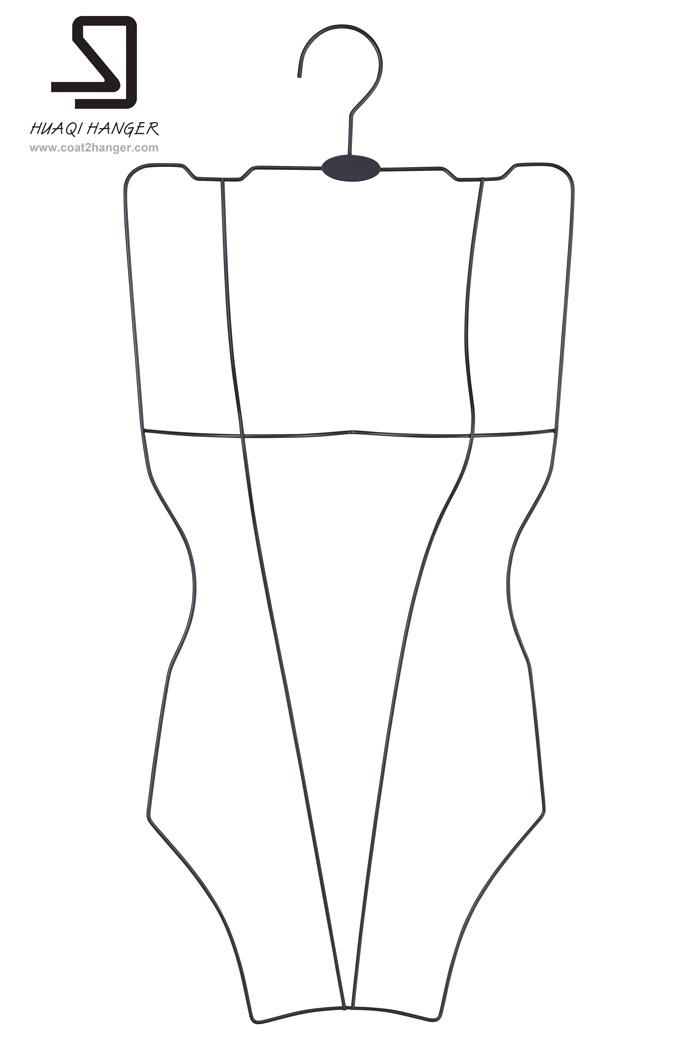 Metal Swimwear Hanger, Wire Hanger, Clothes Hanger. Cheap Hanger