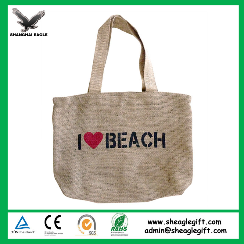 Customized Recycle Promotional Burlap Jute Bag