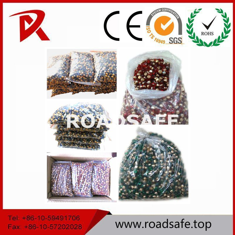 Glass Beads Road Stud Cat Eye Road Marker Reflector