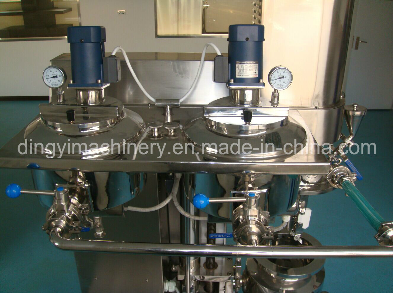 Cream Ointment Laboratory Vacuum Emulsifying Mixer (ZRJ-5-D)