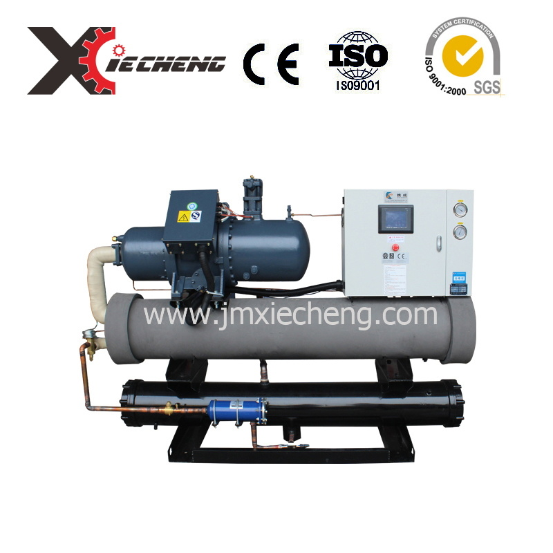 Plastic Injection Air Cooling Screw Industrial Chiller System