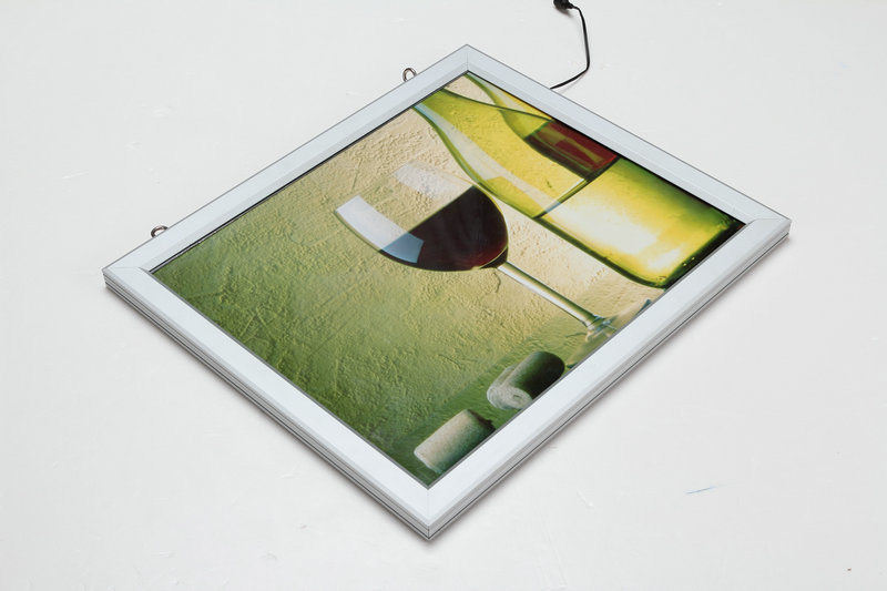 Double Sides Slim LED Light Box for Hanging