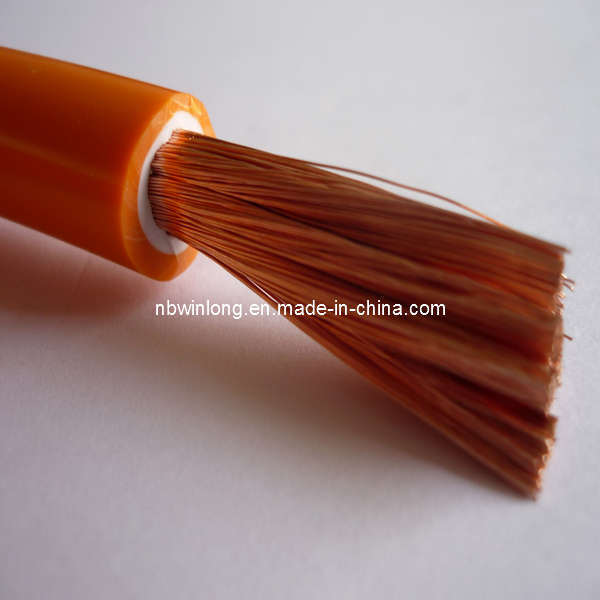 Pvc Welding Cable : China orange white double pvc welding cable wl