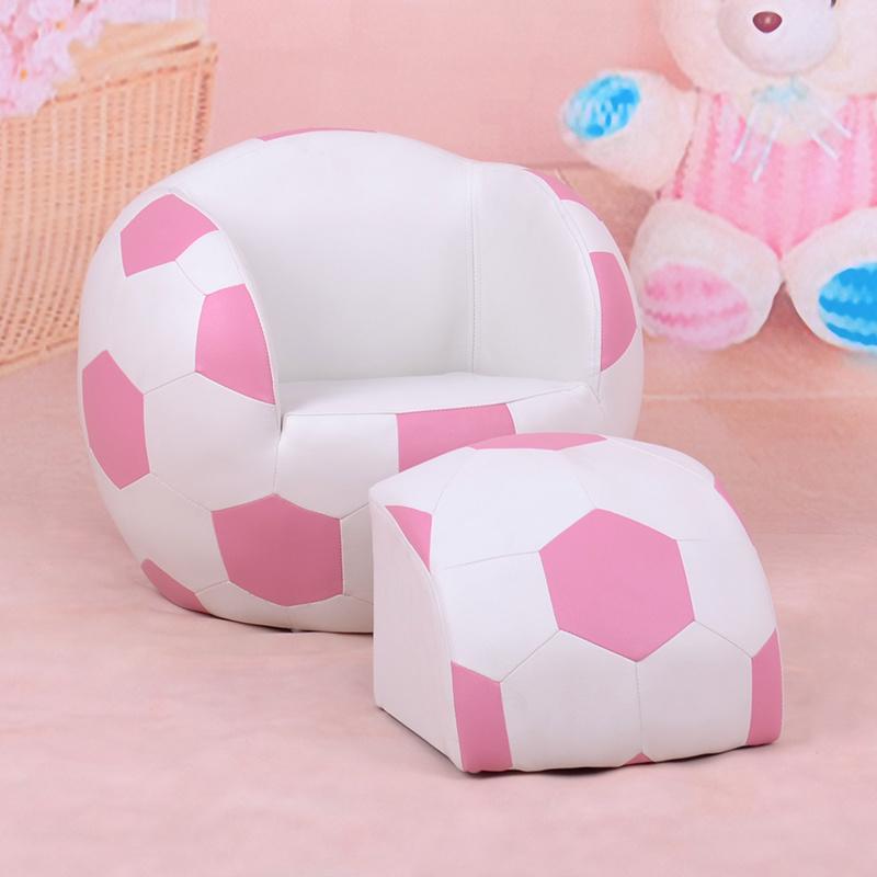 Basketball Kids Sport Furniture/Children Leather Sofa with Ottoman (SXBB-27)