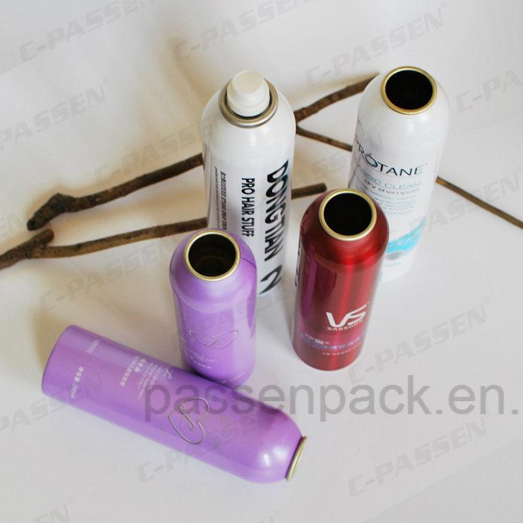 Aluminum Aerosol Can with Fine Mist Spray (PPC-AAC-025)