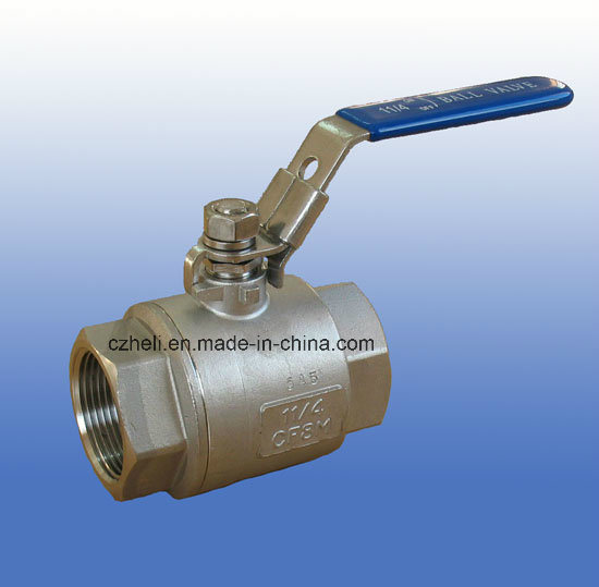 Stainless Steel 2PC Full Port 2000wog Ball Valve