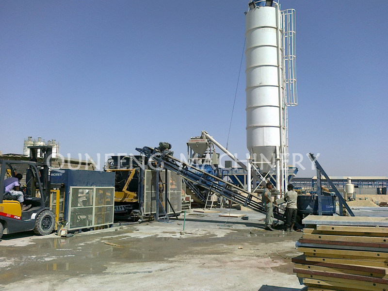 Concrete Batching Plant (HZS60)